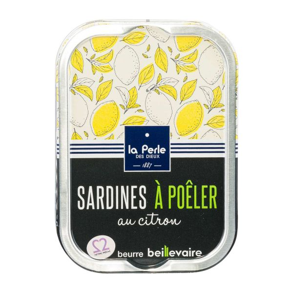 La Perle | Sardinen zum Braten mit Zitrone