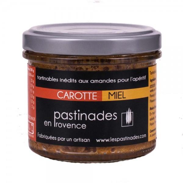 Pastinades Möhren mit Akazienhonig Aperitif Creme
