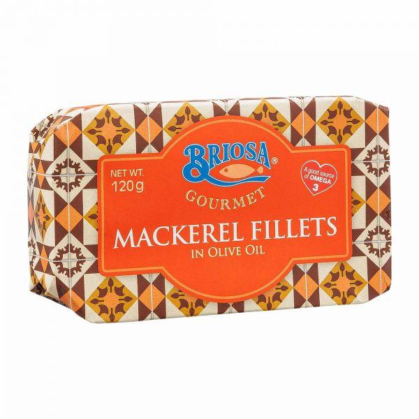 Briosa Gourmet   Makrelen Filets in Olivenöl   120g