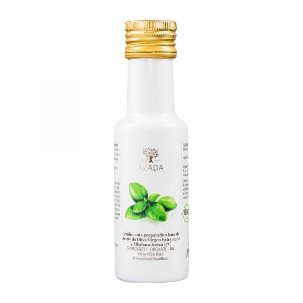 Azada | Olivenöl mit Basilikum | 100ml
