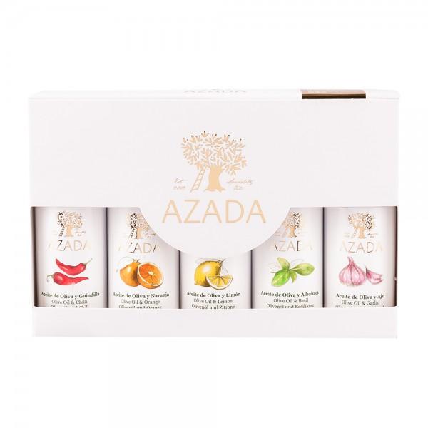 Azada | Olivenöl Tasting Kit | 5x20ml
