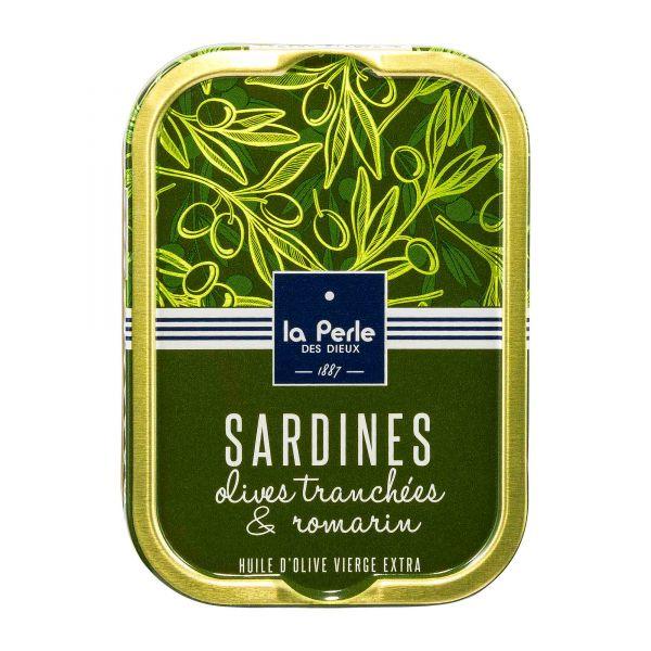 La Perle des Dieux   Sardinen mit Oliven