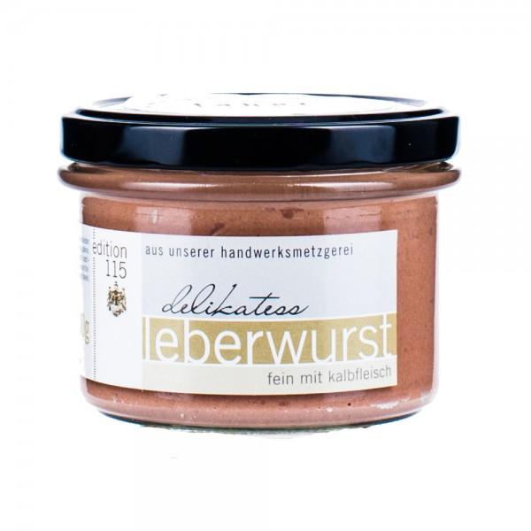 Faber Feinkost Leberwurst mit Kalbfleisch