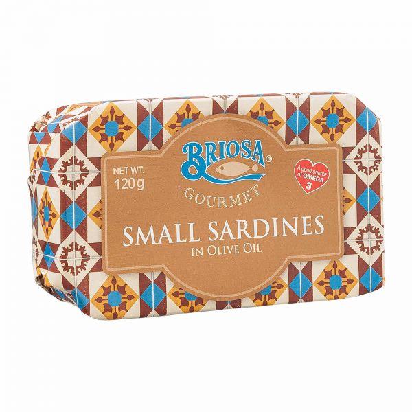 Briosa Gourmet | kleine Sardinen in Olivenöl | 120g