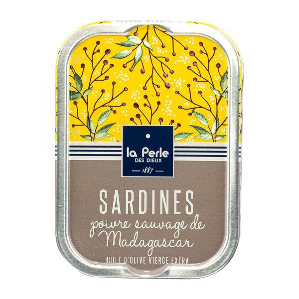 La Perle des Dieux | Sardinen mit wildem Pfeffer