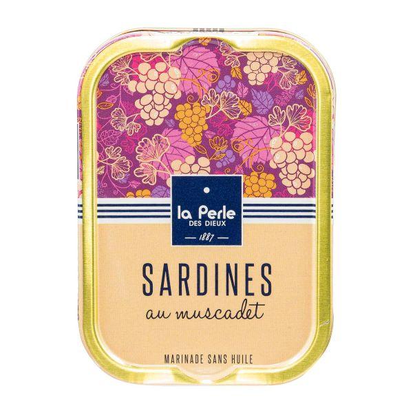 La Perle des Dieux | Sardinen mit Muscadet