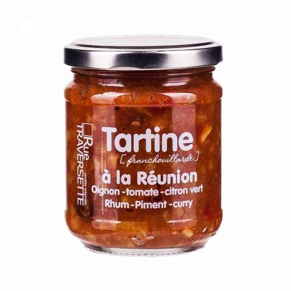 Rue Traversette Tartine Reunion Zwiebel Rum und Curry