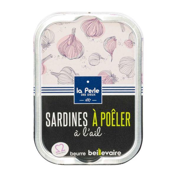 La Perle | Sardinen zum Braten mit Knoblauch