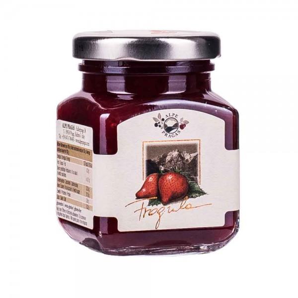 Alpe Pragas Erdbeere Fruchtaufstrich 75% 110g