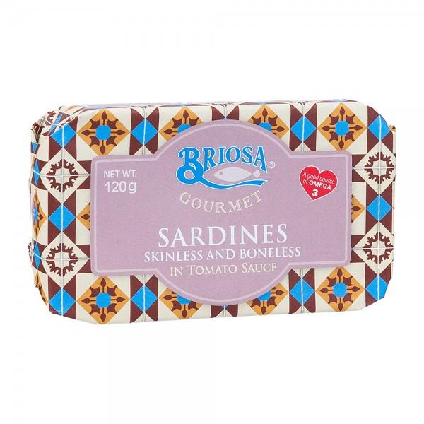 Briosa   Sardinen in Tomatensoße   ohne Gräten   120g