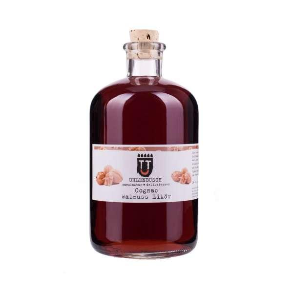Uhlenbusch Manufaktur Cognac Walnuss Likör 1000ml