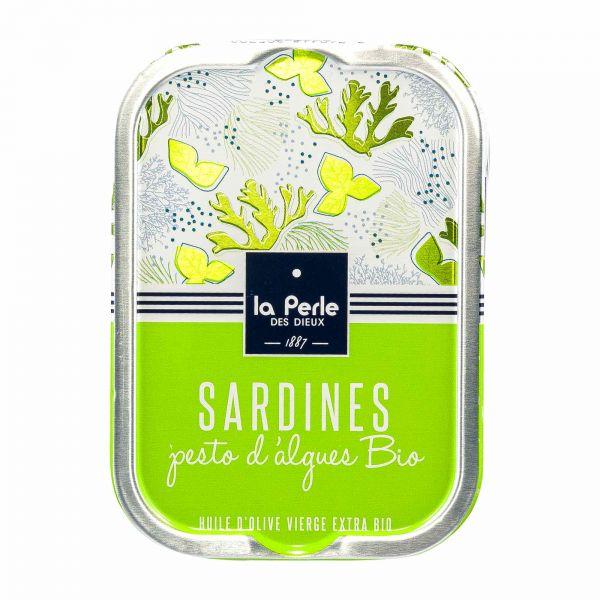 La Perle des Dieux | Sardinen mit Algen Pesto
